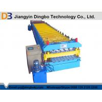 Buy cheap PPGI Steel Roof Panel Roll Forming Machine / Corrugated Sheet Roll Forming Machine from wholesalers
