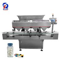 China High Precision Electronic Counting Machine Stainless Steel Pill Bottle Filling Machine on sale
