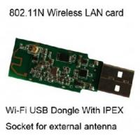 Buy cheap 802.11b Windows CE BBP 54Mbps wireless wifi module usb2.0 networking card from wholesalers