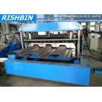 Buy cheap Galvanized Steel Sheet Deck Roll Forming Machinery from wholesalers