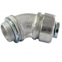 Buy cheap Durable Malleable Iron Conduit Fittings , 45 Degree Conduit Fitting Firm Structure from wholesalers