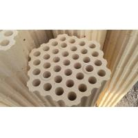 Buy cheap Customrized Size Silica Refractory Bricks Checker 96% Above for Hot Air Furnace product
