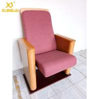 Buy cheap Customized Metal Floor Mounted Polywood Stand Theater Chairs For Church Halls from wholesalers