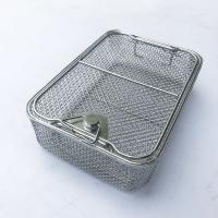 Buy cheap Stainless steel Wire Mesh  Medical Instrument Sterilization Trays basket With Good Quality And Competieve Price from wholesalers