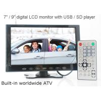 Buy cheap VCAN0951 9 inch LCD monitor with USB SD mp5 player Bulitin Analog TV from wholesalers