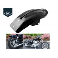 Buy cheap Harley Racing Motorcycle Part Black ABS Plastic Fender Mudguard XL883 XL1200 from wholesalers