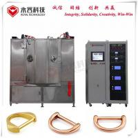 Buy cheap Arc Ion Vacuum Coating Plant , Zinc Alloy Pvd Plating Machine For Rose Gold Handle from wholesalers