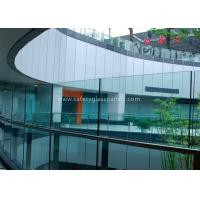 Buy cheap Window Laminated Safety Glass , 10mm Clear Tempered Glass Panel for Office from wholesalers