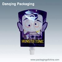 Buy cheap Moisture Proof Printed Stand Up Pouches / Drink Pouch With Spout Packaging from wholesalers