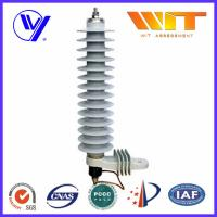 Buy cheap 36KV Medium Voltage Single Phase Surge Arrester For 10KA Transformer from wholesalers