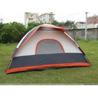 Buy cheap Non - toxic Rainproof 210T Polyester Trip Waterproof Camping Tent With Fiberglass Pole from wholesalers