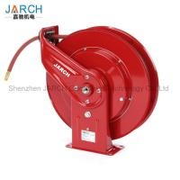 Buy cheap 50 Feet Retractable Hose Reel Long Life Drive Spring Driven For Air / Water from wholesalers