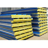 China 0.3 - 0.6mm Cold Room Panels , Easy Installation Metal Sandwich Panel Roof on sale
