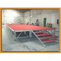 Buy cheap Anti - Rust Portable Aluminium Stage Platform Durable Strong Loading Capacity from wholesalers
