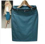 Buy cheap high waist skirt women's autumn summer slim hip casual pencil skirt short skirt from wholesalers