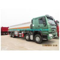 Buy cheap Water Delivery Trucks SINOTRUK howo 8X4  tank capacity 30000L from wholesalers