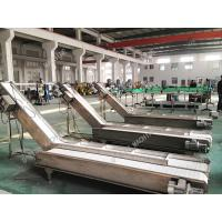 Buy cheap High Stable Industrial Conveyor Belt For Bags Cartons Adjustable Height from wholesalers