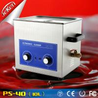 Buy cheap 240W Dental Ultrasonic Cleaner for dental clinic 10l (Jeken PS-40,CE,RoHS) from wholesalers