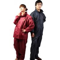 Buy cheap High quality 190T polyester PVC rain suit for motorcycle from wholesalers