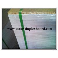Buy cheap 1.6mm grey chip board straws grey calendar binding board sheets from wholesalers