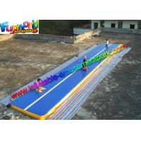 Buy cheap Gym Inflatable Air Track , Inflatable Sport Mattress Games 14 x 2 x 0.2 from wholesalers