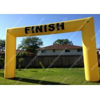 Buy cheap 600D PVC Tarpaulin Inflatable Finish Line Arch With Lead Free For celebration from wholesalers