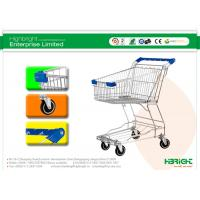 Buy cheap Baby Seat Metal Shopping Trolley , Market Shopping Cart HBE-Y-45L from wholesalers