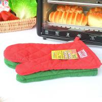 ECO - Friendly Customized Kitchen Oven Mitts/Baking Glove with Logo Embroidery