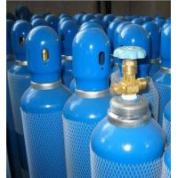 Buy cheap En 1964 - 1 Std Seamless Steel Gas Cylinders Industrial Oxygen Gas Cylinder GB5099 / ISO9809 40L 150bar / 250bar from wholesalers