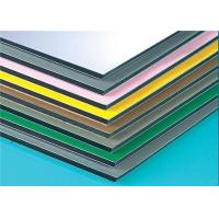 Buy cheap Anodized Composite Wall Panels , Aluminium Composite Sheet Easy Maintain from wholesalers