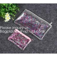 Buy cheap Daily Used Products Packaging Eva Zipper School Bag,Eco-Friendly Soft Plastic Frosted Cosmetic EVA Zipper Bags, Bagease from wholesalers