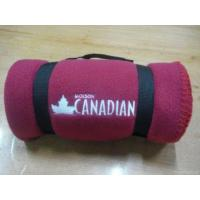 Buy cheap Promotion Anti-pilling Fleece Blanket With Embroidery from wholesalers