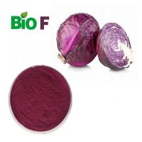 Buy cheap Pure Herbal Natural Pigment Powder Red Cabbage Powder With Anthocyanins from wholesalers