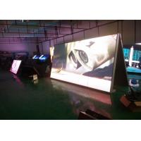 Top quality Full Color P6 Outdoor Advertising LED Display Double Side High Brightness for sale