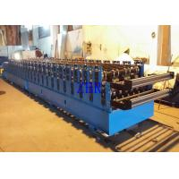 Buy cheap 50Hz Double Deck Roll Forming Machine , 5.5Kw Corrugated Iron Sheet Making Machine product