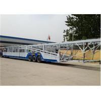 Buy cheap Customized Car Towing Trailer / car haulers trailers For 8-12 Cars Transporter from wholesalers