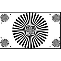 Buy cheap 3nh TE148 A REFLECTANCE Camera LENS FOCUS TEST CHART (36 SECTORS) 16:9 checking back focal distance product