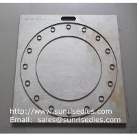 Buy cheap Large board silicon gasket steel cutting dies, rubber gasket steel die cutters wholesale from wholesalers