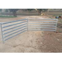 Buy cheap Portable Gate Panels / Sheep Yard Panels 0.9 Meter X 2.1 Meter Square Tube 50mm from wholesalers