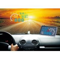 Buy cheap 5.5  Screen Bmw X3 Heads Up Speed Display Blue White LED Fuel Consumption RPM Alarm from wholesalers