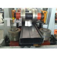 Buy cheap Storage rack warehouse rack box beam upright roll forming machine from wholesalers