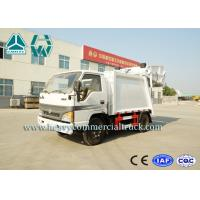 Buy cheap 3 Cbm Diesel Garbage Compactor Trucks , 10 Ton Waste Collection Trucks from wholesalers