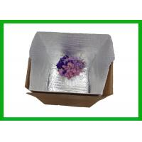 Buy cheap ROHS / SGS MPET Bubble Foil Styrofoam Box Liners Maintain Temperature from wholesalers
