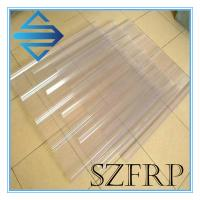 Buy cheap Clear Fiberglass Roof Panel from wholesalers