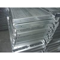 Buy cheap Width 400mm Metal Catwalk pre - galvanized steel scaffolding planks from wholesalers