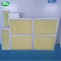 Buy cheap Aluminum Frame Pleat Air Pre Filter from wholesalers