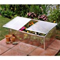 Buy cheap perfect anodized aluminium frame/hollow polycarbonate twin wall sheet cover cold frame kits/mini greenhouse HX63222-1 from wholesalers