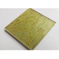 Buy cheap Hot Melt Fused Glass Wall Art Panels , Laminated Wire Glass For Partition from wholesalers
