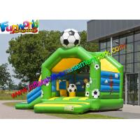 Buy cheap FIFA World Cup Inflatable Kids Bouncer Slide , Jumping Castle for Football Fan from wholesalers