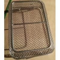 Buy cheap Reusable medical disinfection wire mesh instrument sterilization basket from wholesalers
